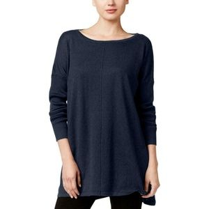Style &Co Top Size PM Knit Ribbed Tunic Sweater PM
